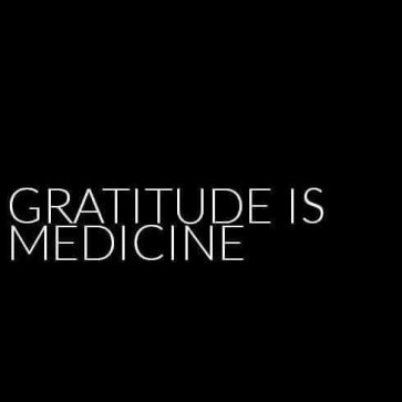 Gratitude is Medicine