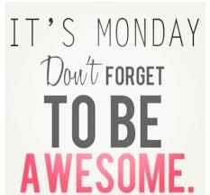 Happy Monday A