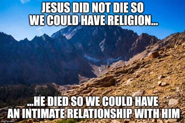 Jesus Did Not Die Meme