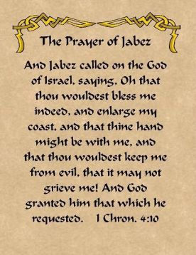 Prayer of Jabez 2
